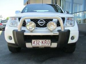 2008 Nissan Navara D40 ST-X White 5 Speed Automatic Utility Earlville Cairns City Preview