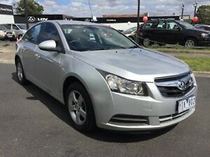 2011 Holden Cruze JH Series II MY12 CD Silver 6 Speed Sports Automatic Sedan Heidelberg Heights Banyule Area Preview