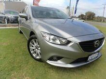 2014 Mazda 6 GJ1031 MY14 Sport SKYACTIV-Drive Silver 6 Speed Sports Automatic Wagon Silver Sands Mandurah Area Preview
