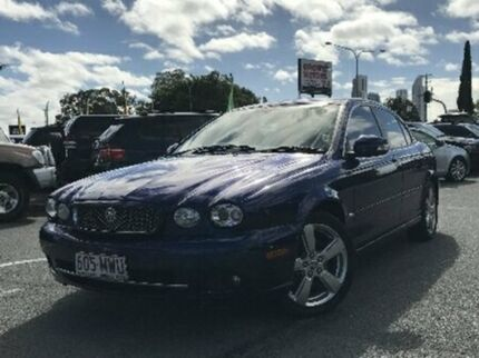 2009 Jaguar X-Type X400 MY09 LE Purple 5 Speed Automatic Sedan