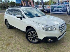 2017 Subaru Outback MY16 2.5i AWD White Continuous Variable Wagon Dapto Wollongong Area Preview