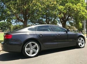 2013 Audi A5 8T MY13 Sport Edition Sportback multitronic Grey 8 Speed Constant Variable Hatchback Summer Hill Ashfield Area Preview