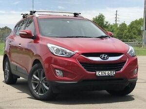 2015 Hyundai ix35 LM3 MY15 Elite AWD Red 6 Speed Sports Automatic Wagon Kings Park Blacktown Area Preview