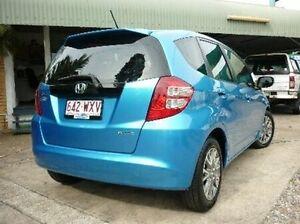 2010 Honda Jazz GE MY10 GLI Vibe Cerulean Blue 5 Speed Manual Hatchback Deagon Brisbane North East Preview