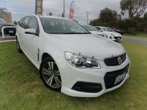 2013 Holden Commodore VF MY14 SV6 Sportwagon White 6 Speed Sports Automatic Wagon Silver Sands Mandurah Area Preview