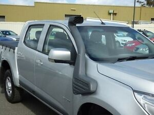 2014 Holden Colorado RG MY14 LX Crew Cab Silver 6 Speed Sports Automatic Cab Chassis Diggers Rest Melton Area Preview
