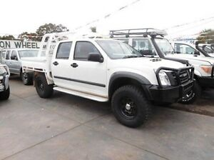 2011 Isuzu D-MAX MY11 SX White 5 Speed Manual Cab Chassis Fawkner Moreland Area Preview