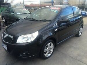 2008 Holden Barina TK MY09 Black 4 Speed Automatic Hatchback Fyshwick South Canberra Preview
