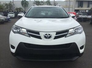 2015 Toyota RAV4 ASA44R MY14 GX AWD White 6 Speed Sports Automatic Wagon Berrimah Darwin City Preview