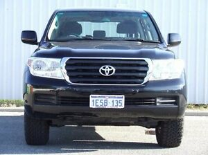 2011 Toyota Landcruiser VDJ200R MY10 GXL Black 6 Speed Sports Automatic Wagon Gosnells Gosnells Area Preview