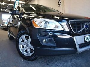 2009 Volvo XC60 DZ MY10 D5 Geartronic AWD Black 6 Speed Sports Automatic Wagon Highett Bayside Area Preview