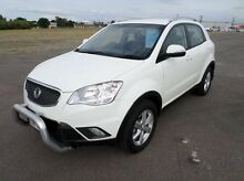 2012 Ssangyong Korando C200 S 2WD White 6 Speed Sports Automatic Wagon Hyde Park Townsville City Preview