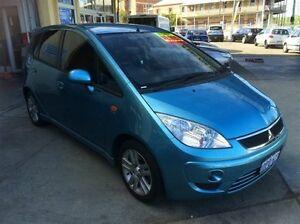 2011 Mitsubishi Colt RG MY11 VR-X Blue Continuous Variable Hatchback South Fremantle Fremantle Area Preview