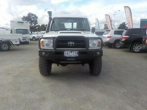 2007 Toyota Landcruiser White Manual Wagon Pakenham Cardinia Area Preview