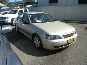 2005 Ford Falcon BA Mk II XT Gold 4 Speed Sports Automatic Sedan East Kempsey Kempsey Area Preview