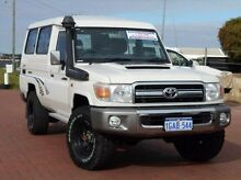 2011 Toyota Landcruiser VDJ78R MY10 GXL Troopcarrier White 5 Speed Manual Wagon Spearwood Cockburn Area Preview