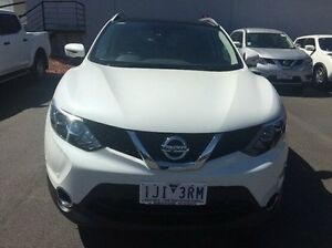 2016 Nissan Qashqai J11 TI (4x2) White Continuous Variable Wagon Ringwood East Maroondah Area Preview