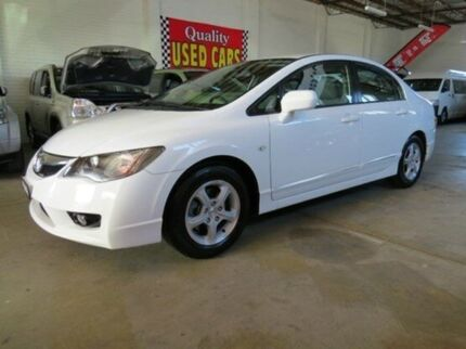 2010 Honda Civic 8th Gen MY10 Limited Edition White 5 Speed Automatic Sedan Fyshwick South Canberra Preview