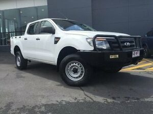 2012 Ford Ranger PX XL Double Cab White 6 Speed Sports Automatic Utility Earlville Cairns City Preview