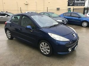 2008 Peugeot 207 A7 XT HDI Blue 5 Speed Manual Hatchback St James Victoria Park Area Preview