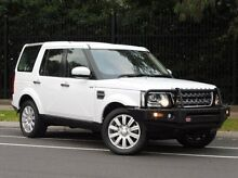 2014 Land Rover Discovery Series 4 L319 MY14 TDV6 White 8 Speed Sports Automatic Wagon South Melbourne Port Phillip Preview