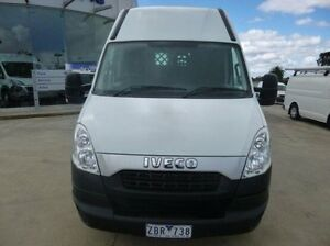 2012 Iveco Daily White Manual + O/Drive Van Coburg North Moreland Area Preview