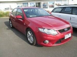 2010 Ford Falcon FG XR6 Red 4 Speed Sports Automatic Sedan Bundoora Banyule Area Preview