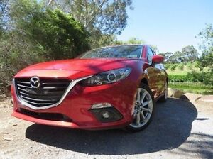 2013 Mazda 3 BM5238 SP25 SKYACTIV-Drive Red 6 Speed Sports Automatic Sedan Christies Beach Morphett Vale Area Preview