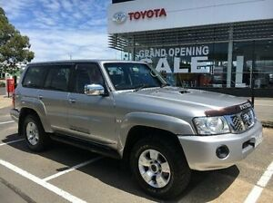 2008 Nissan Patrol GU 6 MY08 ST-L Silver 4 Speed Automatic Wagon Mornington Mornington Peninsula Preview