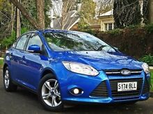 2014 Ford Focus LW MKII Trend PwrShift Blue 6 Speed Sports Automatic Dual Clutch Sedan Thorngate Prospect Area Preview