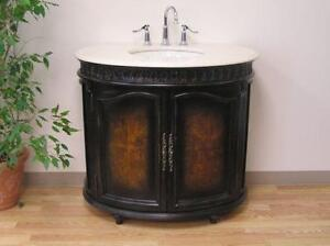 "38"" Antique Style Single Vanity Multi-Tone ( Display Model )"