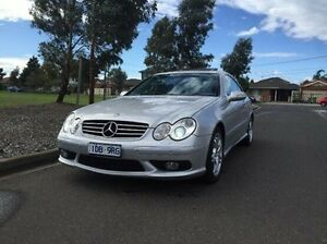 2004 Mercedes-Benz CLK55 C209 AMG Silver 5 Speed Automatic Coupe Maidstone Maribyrnong Area Preview