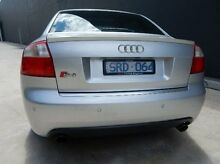 2004 Audi S4 B6 Quattro Silver 6 Speed Sports Automatic Sedan Braeside Kingston Area Preview