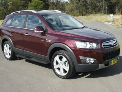 2012 Holden Captiva CG Series II 7 AWD LX Merlot 6 Speed Auto Seq Sportshift Wagon South Nowra Nowra-Bomaderry Preview
