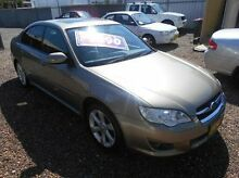 2007 Subaru Liberty B4 MY08 Heritage AWD Gold 5 Speed Manual Sedan Islington Newcastle Area Preview