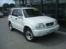 1998 Suzuki Vitara  White Manual Wagon Launceston 7250 Launceston Area Preview