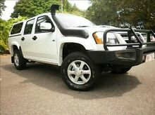 2010 Holden Colorado RC MY10 LX Crew Cab White 4 Speed Automatic Utility Stuart Park Darwin City Preview