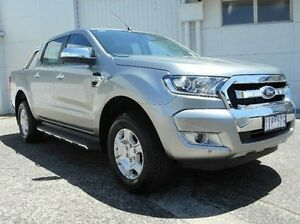2016 Ford Ranger PX MkII XLT Double Cab Silver 6 Speed Sports Automatic Utility Bundoora Banyule Area Preview