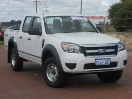 2011 Ford Ranger PK XL Crew Cab Cool White 5 Speed Automatic Utility Yangebup Cockburn Area Preview