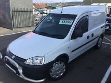 2008 Holden Combo XC MY07.5 White 5 Speed Manual Van Invermay Launceston Area Preview
