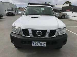 2008 Nissan Patrol GU 6 MY08 DX White 5 Speed Manual Wagon Mornington Mornington Peninsula Preview
