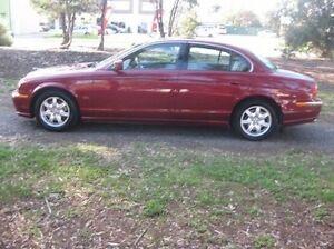 2001 Jaguar S-Type X200 MY2001 SE Red 5 Speed Automatic Sedan Woodville Park Charles Sturt Area Preview