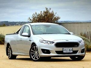 2015 Ford Falcon FG X XR6 Ute Super Cab Silver 6 Speed Sports Automatic Utility Christies Beach Morphett Vale Area Preview