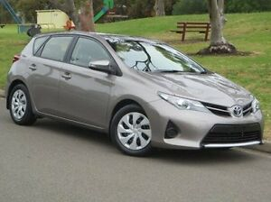 2014 Toyota Corolla ZRE182R Ascent S-CVT Gold 7 Speed Constant Variable Hatchback Christies Beach Morphett Vale Area Preview