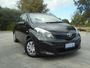 2013 Toyota Yaris NCP130R YR Black 4 Speed Automatic Hatchback Rockingham Rockingham Area Preview