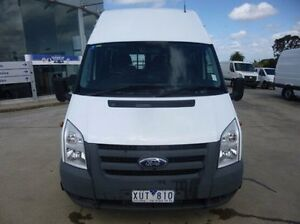 2010 Ford Transit VM High Roof White 6 Speed Manual Van Coburg North Moreland Area Preview