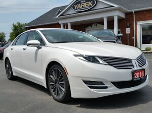 2016 Lincoln MKZ AWD, NAV, Heated/Cooled Seats, Remote Start, Ba