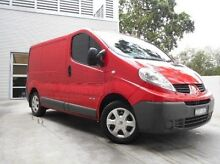 2013 Renault Trafic X83 Phase 3 Low Roof Red 6 Speed Manual Van Berwick Casey Area Preview