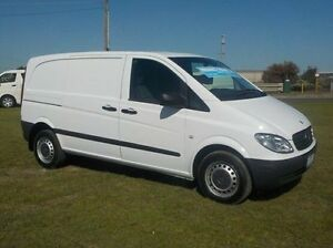2010 Mercedes-Benz Vito White Manual Van Pakenham Cardinia Area Preview