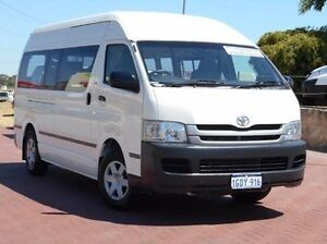 2008 Toyota Hiace KDH221R MY08 Super LWB White 4 Speed Automatic Van Spearwood Cockburn Area Preview